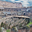 Royalty-Free Stock Photo: Internal view of Colosseum