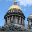 Cathedral of Saint Isaak in St Petersburg, Russia - Foto Stock