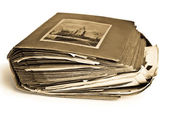 Old photo album — Stock Photo