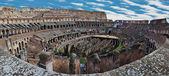 Internal view of Colosseum, panorama — Stock Photo