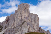 The rock, passo Giau, Italy — Стоковое фото