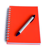 Notebook and a pen — Stock Photo
