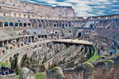 Internal view of Colosseum — Stock Photo