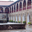 Kykkos monastery, inner court with well — Stock Photo #12872274