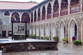 内部裁判所よくキッコー修道院 — ストック写真