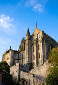 Opatství mont saint-michel, francie — Stock fotografie
