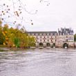 Stock Photo: Castle Chenonceau