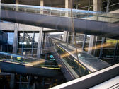 Charles De Gaulle airport, Paris, France — Stock Photo