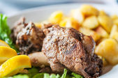 Lamb shank — Stock Photo