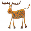 Cartoon deer — Stockfoto #13705604