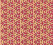 Abstract pattern red — Stock Vector