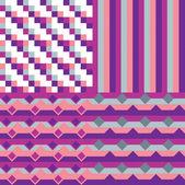 抽象的なパターンのセット — ストックベクタ