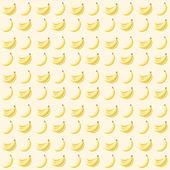 Wzór z bananami — Wektor stockowy