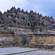Borobudur Buddhist temple (IX cent.),   UNESCO World Heritage Site, Magelang,  Java, Indonesia - Stock Photo