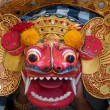 Barong dance mask of lion, Ubud, Bali, Indonesia — Stock Photo