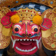 Barong dance mask of lion, Ubud, Bali, Indonesia — Stock Photo #12853287