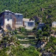 Stock Photo: SimonopetrMonastery, Athos Peninsula, Mount Athos, Chalkidiki, Greece