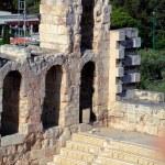 Herodes Atticus Theater, Acropolis, Athens, Greece — Stock Photo