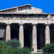 Temple of Hephaistos, Acropolis, Athens, Greece - Stock Photo
