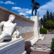 Постер, плакат: Monument of king Leonidas and 300 spartans Thessaly Greece