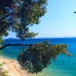 Sithonia sea view, Chalkidiki, Greece — Stock Photo