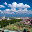 View from top of St. Isaac's Cathedral, Saint Petersburg, Russia — Stock Photo #12853649