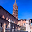 Basilica of St. Sernin (XI c.), Toulouse, France — Stock Photo