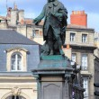 Statue of  Marquis de Tourny on Place Tourny,  Bordeaux, France — Stock Photo