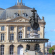 Fontaine des Trois Grâces on Place de la Bourse, Bordeaux, Fra - Stock Photo