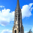 Belltower of Saint-Michel Basilica (14th-16th ct.), UNESCO herit — Stock Photo