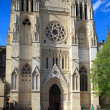 Cathdrale Saint-Andr (11th-15th c.), UNESCO heritage site, - Foto de Stock  
