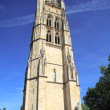 Tour Pey-Berland, belltower of Cathdrale Saint-Andr (11th- - Foto de Stock  