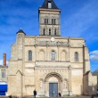 Saint-Seurin Basilic(11th.c.), UNESCO heritage site, Bordeaux — Stock Photo #12854026