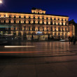 Night view of Regent hotel on square of Grand Theater of Bor — Stock Photo #12854084