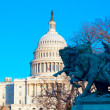 Capitol Building with clear blue sky, Washington DC, USA — Stock Photo #12854171