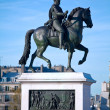 Statue of Henri IV, Paris, France — Stock Photo