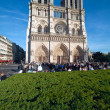 Cathedral Notre Dame de Paris (1160-1345), Paris, France — Stock Photo
