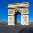 Arc de Triomphe (1808), Paris, France — Stock Photo