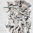 Stock Photo: Bus-relief of Arc de Triomphe (1808), Paris, France