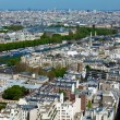 The Grand Palais - aerial view from Eiffel Tower, Paris, France — Stock Photo #12854365