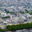 Montmartre with Basilica of the Sacred Heart - - aerial view fro — Stock Photo #12854374