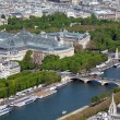 The Grand Palais - aerial view from Eiffel Tower, Paris, France — Stock Photo #12854381