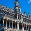 Kings house on the Grand Place, Brussels, Belgium — Stock Photo