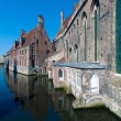 Постер, плакат: Old St John Hospital painter Hans Memling Museum Bruges Belgium