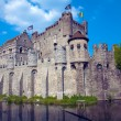 ������, ������: The Gravensteen medieval castle built in 1180 by count Philip of Alsace Ghent Belgium