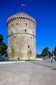 Bílá věž, soluň, makedonie, řecko — Stock fotografie