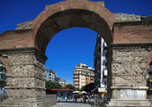 Arch of Galerius, Thessaloniki, Macedonia, Greece — Stock Photo