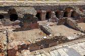 Romeinse forum, thessaloniki, macedonië, griekenland — Stockfoto