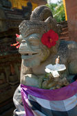 Demon statue, Ubud, Bali, Indonesia — Stock Photo
