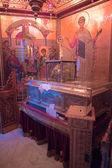 Relic of st.Dimitrios in Agios Dimitrios church, Thessaloniki, Macedonia, Greece — Stock Photo